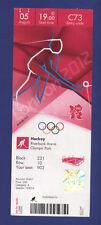 Orig.Ticket  Olympic Games LONDON 2012  -  HOCKEY   GREAT BRITAIN - AUSTRALIA !!