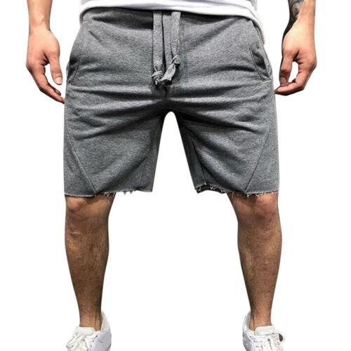 Herren Shorts Bodybuilding Fitness Lauftrainingshose Sommer Boardshorts mode H//H