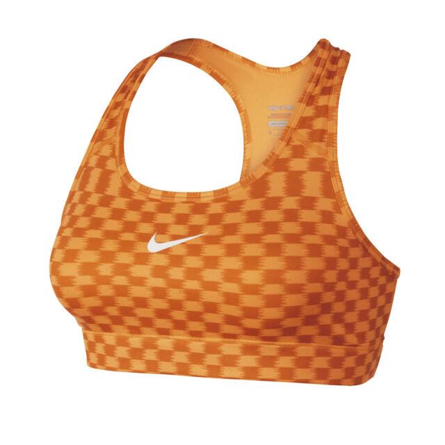 Nike Dri Fit Printed Pro Compression IKAT Medium Support Sports Bra   XS  MED