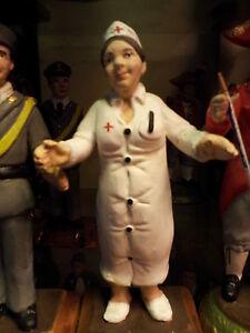 1-Figurine-10-12-cm-Terre-Cuite-Infirmiere-Dott-Bergers-Creche-Shepherds-Crib