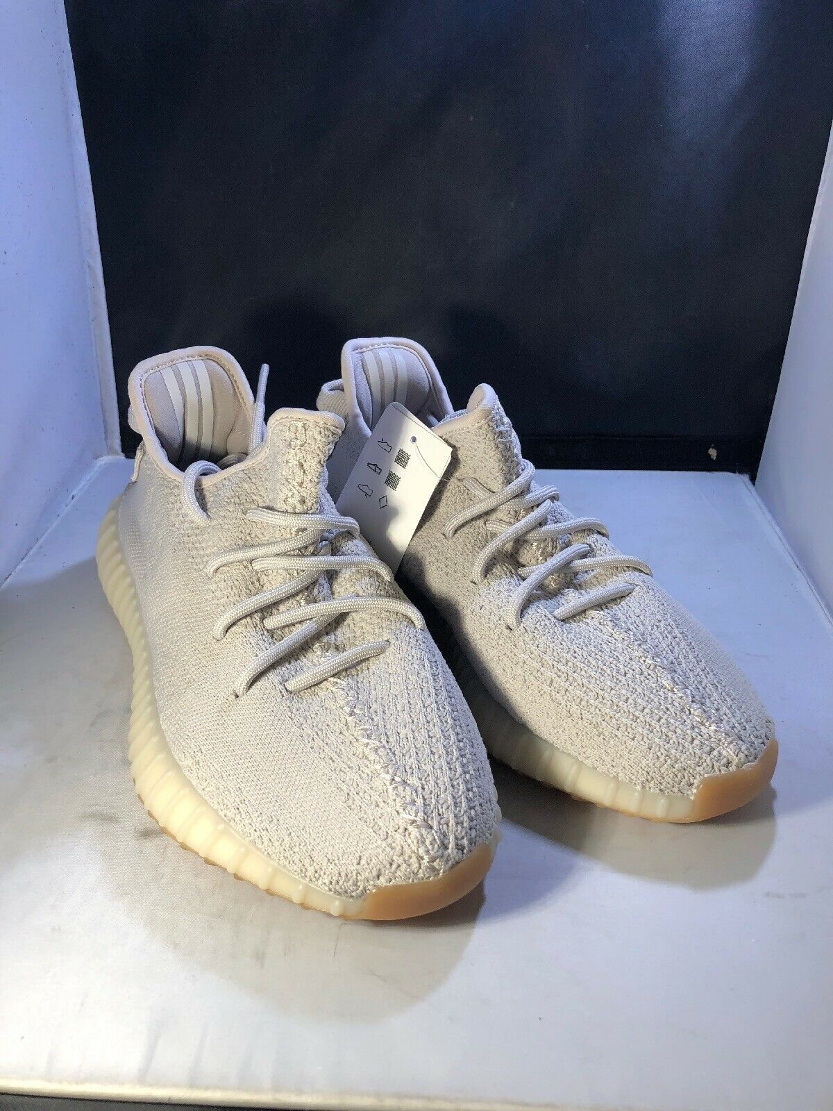 on sale e8ea2 30145 adidas Yeezy Boost 350 V2 Sesame 100 Authentic Size 7
