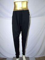 Theatricals Costumes Gold Black White Harem High Waist Pants Womens Medium 8 10