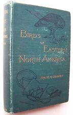 BIRDS OF EASTERN NORTH AMERICA Frank Chapman 1899 HC Appleton ILLUSTRATED  - J1