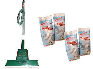vorwerk teppichfrischer 732 mit 2 kg reinigungspulver zur teppichreinigung ebay. Black Bedroom Furniture Sets. Home Design Ideas