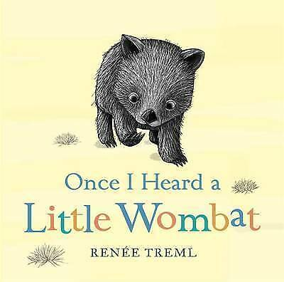 1 of 1 - Once I Heard a Little Wombat by Renee Treml (Board book, 2015)
