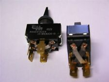 """2 Cole Hersee 55046 DPDT 3 Position Reversing Toggle Switch .25"""" Quick Connect"""