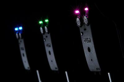 Karpfen Angeln Bissalarm Aufhänger Indikator LED beleuch ZP JM