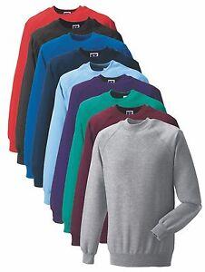 Russell-762m-50-50-Escuela-Workwear-sudadera-Jumper-sin-logotipo-xs-4xl