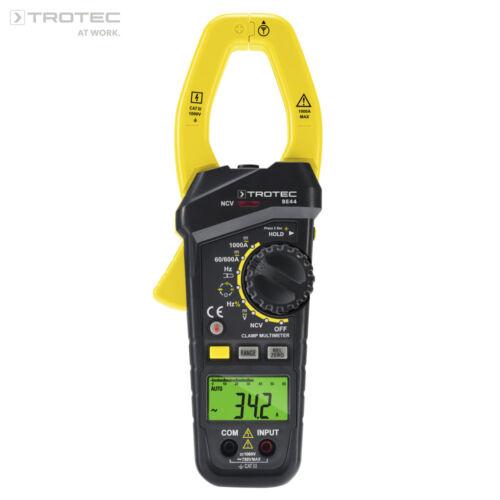 TROTEC Stromzange BE44ZangenamperemeterDigital Zangen MultimeterAC DC