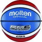 Molten Basketball Bgmx5-c Rot/weiß/blau Gr. 5