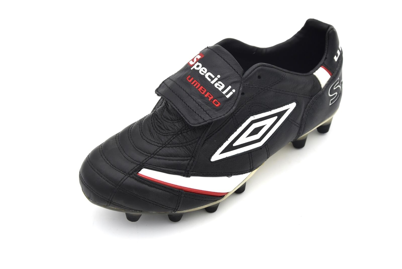 UMBRO MAN SPORTS FOOTBALL SOCCER CLEATS schuhe LEATHER CODE 887016-137