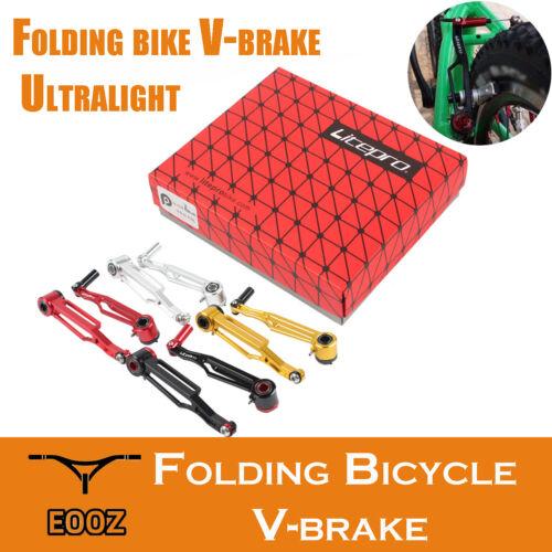 BMX Bikes V Brake 1Pair Ultralight AL7075 Short Long Arm V-Brakes Folding