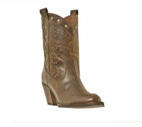 risparmiare sulla liquidazione Dingo Roni Ladies Marrone Distressed Leather Studded Studded Studded Ankle stivali DI 791 Dimensione 7.5M  negozio fa acquisti e vendite