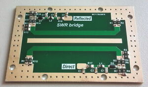 QRO SWR and POWER Meter 1KW 1000W for HAM transceiver assembled