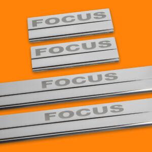 410107-BRILLANT-4-LES-SEUILS-DE-PORTE-CONVIENT-POUR-FORD-FOCUS-MK2-MK-2-FOCUS