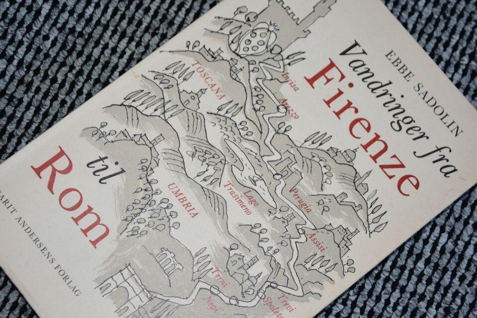 Vandringer fra Firenze til Rom, Ebbe Sadolin, emne: