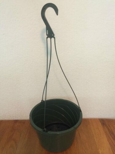 10 inch Hanging baskets nursery pots planters Qty 10
