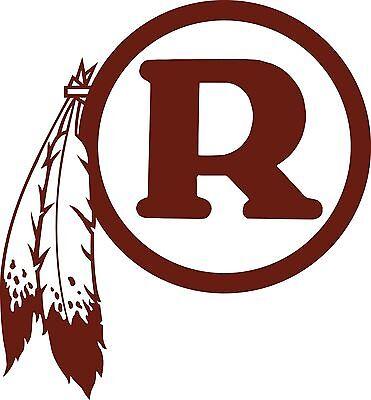 WASHINGTON REDSKINS Logo ~ Window WALL DECAL * Vinyl Car STICKER ~ ANY COLORS
