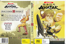 Avatar:The Legend of Aang:Book 2:Vol 2-2005/08-TV Series USA-5 Episodes-DVD
