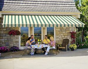 18 Sunsetter Outdoor Deck Or Patio Motorized Awning In