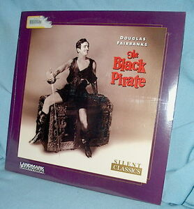 LD-laserdisc-THE-BLACK-PIRATE-Douglas-Fairbanks-SILENT-FILM-tinted-version