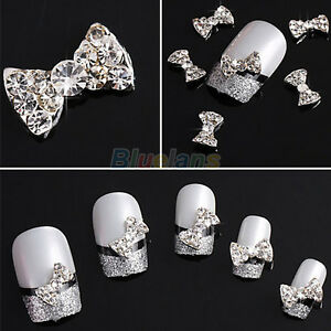 10x-DIY-DECORATIONS-3D-CLEAR-ALLOY-RHINESTONE-BOW-TIE-NAIL-ART-SLICES
