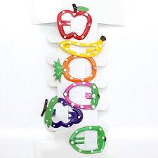 6pcs Fruti Shape Hair Clip Snaps Accessories for Girls Kids Baby 1 Set