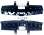 Front-Grille-Sight-Shield-Upper-Cover-Reinforcement-for-Hyundai-Veloster-2012-17 miniature 1