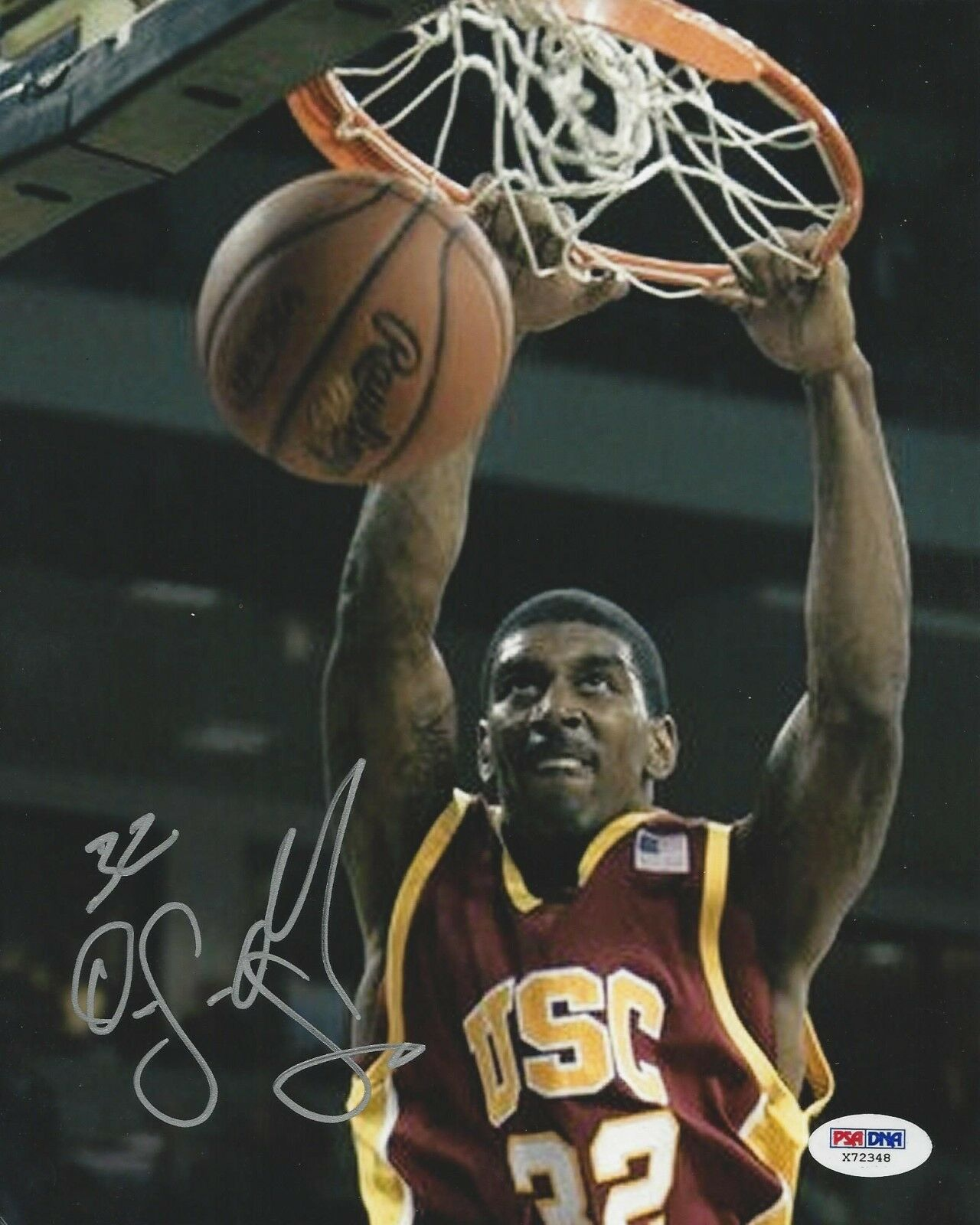 Oj Mayo USC Trojans Signed 8x10 Photo PSA/DNA #X72348