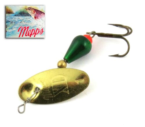 Indicator Mepps XD Gold//Green T-Shirt 1 50 mm 2,5 GRS French Trout Spinner
