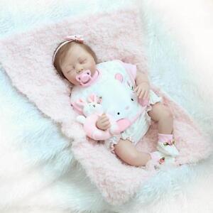 Bebe-22-034-Soft-Silicone-Vinyl-Reborn-Baby-Girl-Doll-Lifelike-Newborn-Toy-1pc-Gift