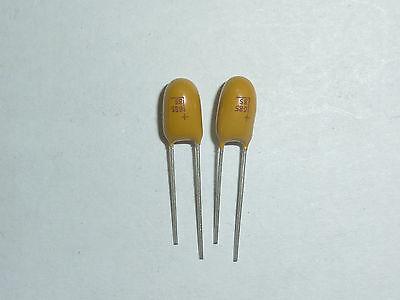 20 PCS 6.8UF//35V DIP-2 35V 6.8uF Radial Tantalum capacitor 685//35V