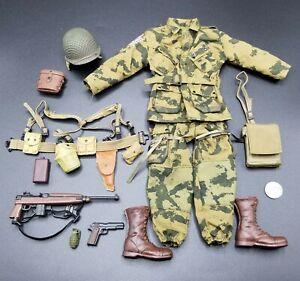 "1:6 Hasbro WWII US Airborne M1 Para Carbine 12/"" GI Joe BBI Dragon Dam Toys WW2"