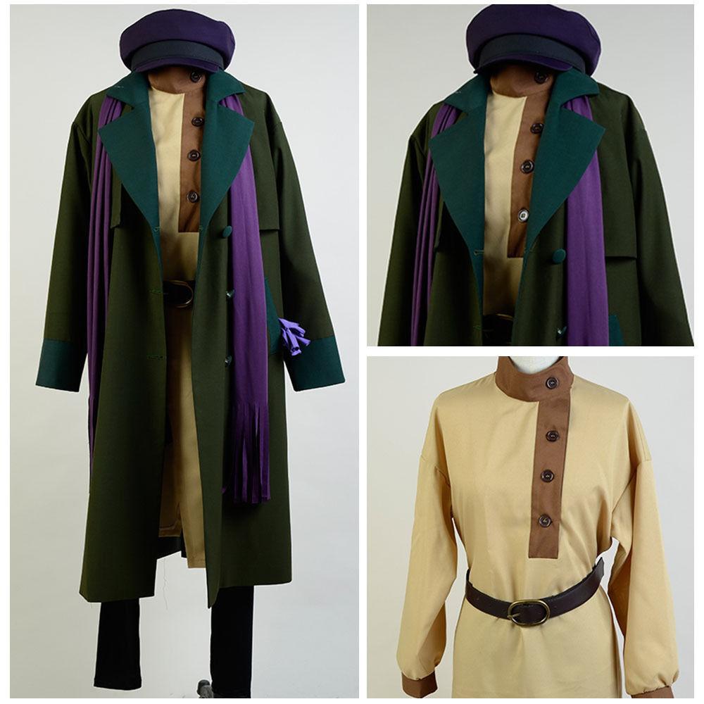 1997 Anastasia Romanov Anya Cosplay Costume Suit Uniform Coat Attire Outfit Y.34