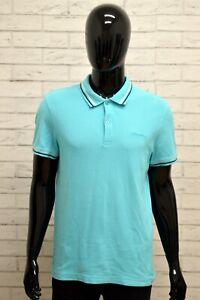 Polo-LOTTO-Uomo-Taglia-Size-XL-Maglia-Maglietta-Camicia-Shirt-Man-Cotone-Regular