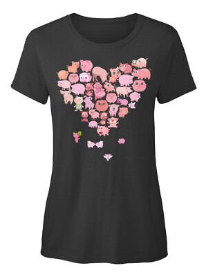 Heart Pig Standard Women's T-shirt