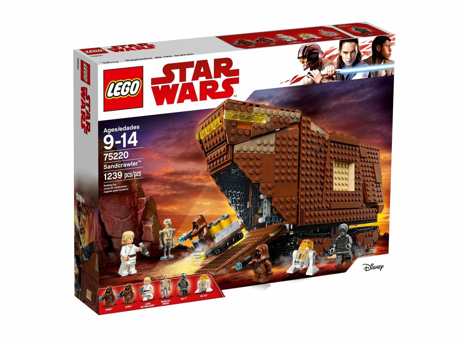 LEGO ® 75220 Star Wars Sandcrawler   bon prix