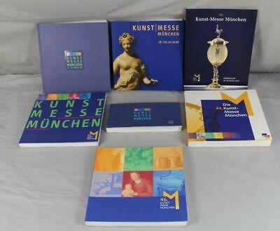 7x Kunstkatalog , Katalog Zur Kunst Messe München Von 1999 - 2011 , Ca. 6,9 Kg. GroßEr Ausverkauf