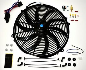 Image Is Loading A Team 16 Inch Electric Radiator Cooling Fan