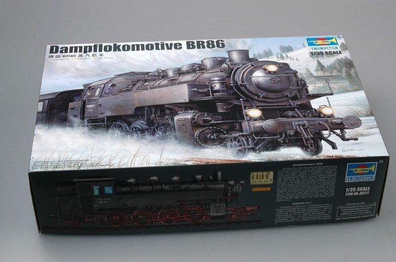 Trumpeter 1 35 00217 German Dampflokomotive BR86
