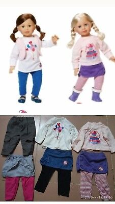 """25/"""" LOT'S OF 6 PIECES MOLLY AND FRIENDS DOLLS CLOTHES Fit Large Dolls 63cm"""