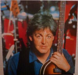 Paul-McCartney-Live-NEW-MINT-RARE-Brazilian-PROMO-12-inch-vinyl-single