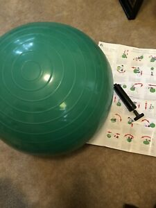 Versa Full Body Workout Exercise Ball Instructions And Pump Ebay