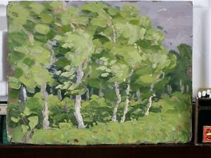 OLD-RUSSIAN-PAINTING-IMPRESSIONIST-PENZA-1906-SIGNED-KONSTANTIN