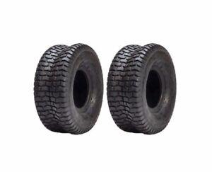 15x6x6 Turf Tires John Deere L100 105 110 Front Tires 15x6-6 15-6.0-6.0 D097 2