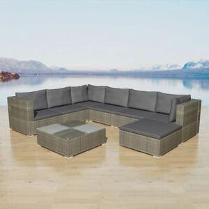 lounging furniture. image is loading vidaxl-garden-sofa-set-24-piece-rattan-wicker- lounging furniture