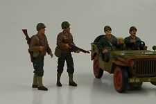 US Army Militär Police Soldier Set 4 Figur 1:18 Figures American Diorama