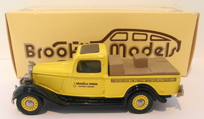 Brooklin 1 43 Scale BRK16A  012 - 1935 Dodge Pick Up Brasilia Press 1 Of 700