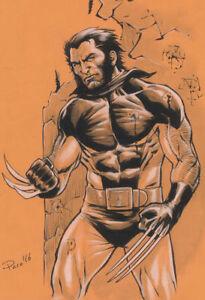 Wolverine-X-Men-Original-Art-Sketch-Pinup