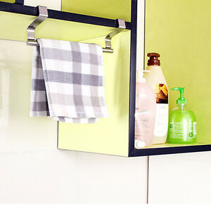 edelstahl schrank h nger ofen t r k che handtuch halter. Black Bedroom Furniture Sets. Home Design Ideas